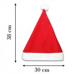 Dimensions de bonnet de Noël personnalisé