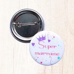 Badge Super Marraine