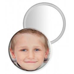 Miroir de poche personnalisé avec photo