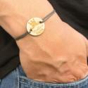 Bracelet Meilleur Papa en bois gravé